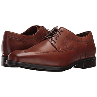 Johnston & Murphy Waterproof XC4 Branning Dress Moc Oxford (Tan Waterproof Full Grain) Men
