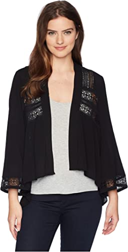 Layla Jacket with Lace Trim
