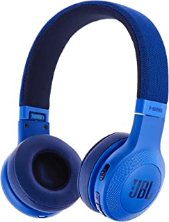 JBL E45BT On-Ear Wireless Headphones, Blue