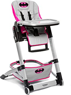 KidsEmbrace Adjustable Folding High Chair, DC Comics Batgirl