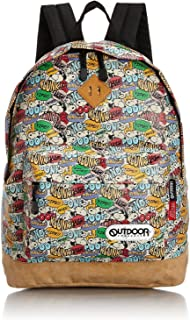 OUTDOOR Peanuts Snoopy colorful Backpack SY431 from Japan