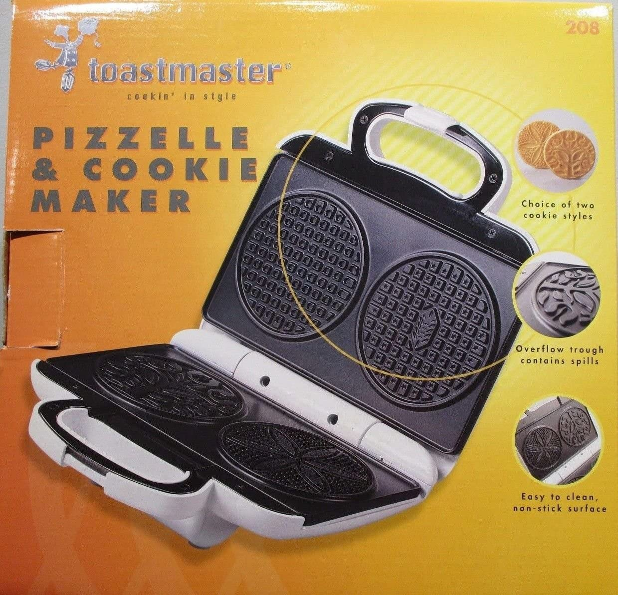 Toastmaster Discount is also underway Pizzelle and Cookie Maker Directly managed store