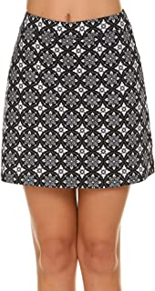 Ekouaer Womens Skorts Pleated Cute Skirts with Pocket Solid Color Sports Shorts