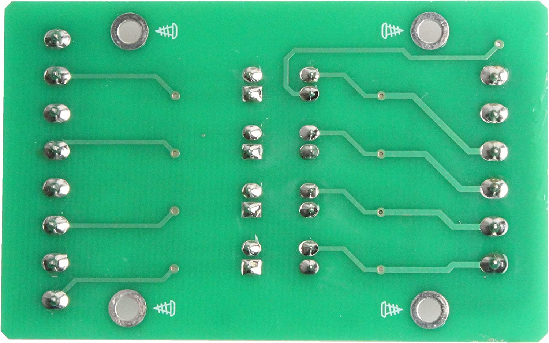 NOYITO 4-Channel Optocoupler Photoelectric Isolator Module Level Voltage Converter Module PLC Signal Converter Module PNP NPN to PNP (12V to 5V)