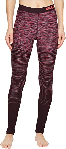 Nike - Pro Hyperwarm Stripe Training Tight
