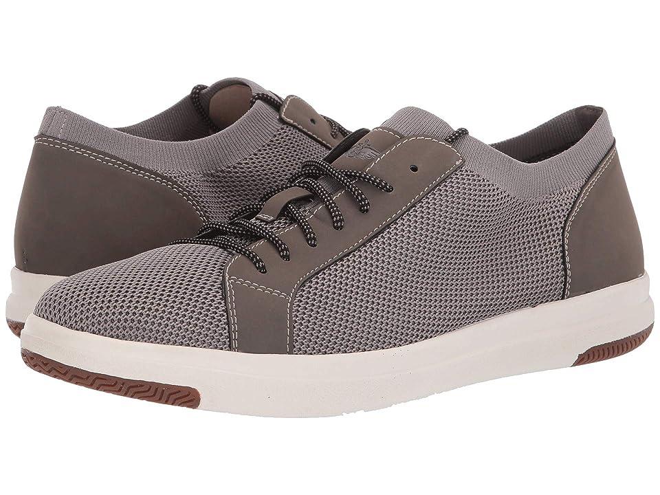 Dockers Franklin Smart Series Knit Sneaker with Smart 360 Flex and NeverWet (Grey Knit/Nubuck) Men