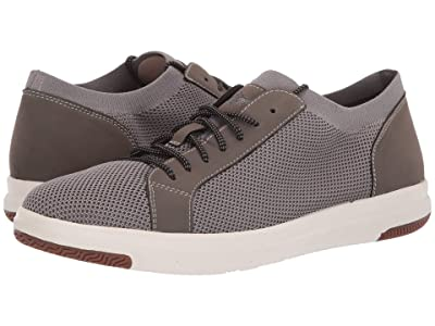 Dockers Franklin Smart Series Knit Sneaker with Smart 360 Flex and NeverWet (Grey Knit/Nubuck) Men