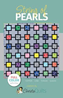Christa Quilts String of Pearls Quilt Pattern 4 Sizes