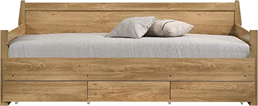 Mia Wooden 3 Drawers Daybed