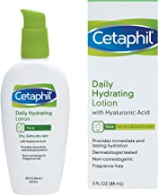 Cetaphil 日用保湿乳液,含玻尿酸,3.0 液体盎司