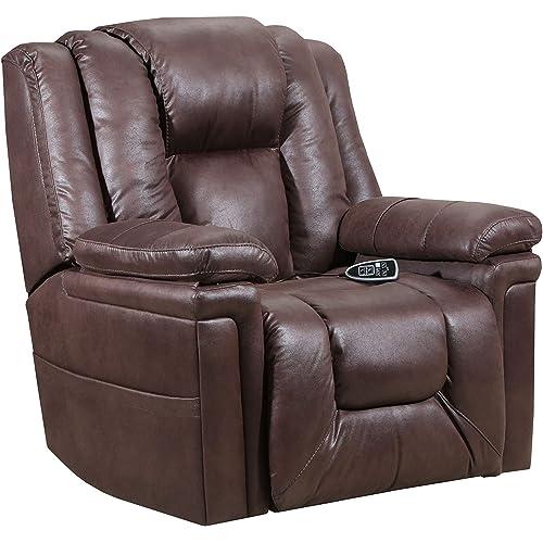 Amazon Com Lane Home Furnishings 4602 150 Turbo Espresso Heat Massage Lift Recliner Furniture Decor