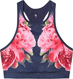 Peonies Crop Top