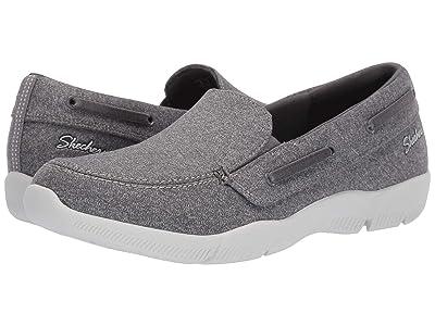 SKECHERS Be-Lux Easily Done (Grey) Women