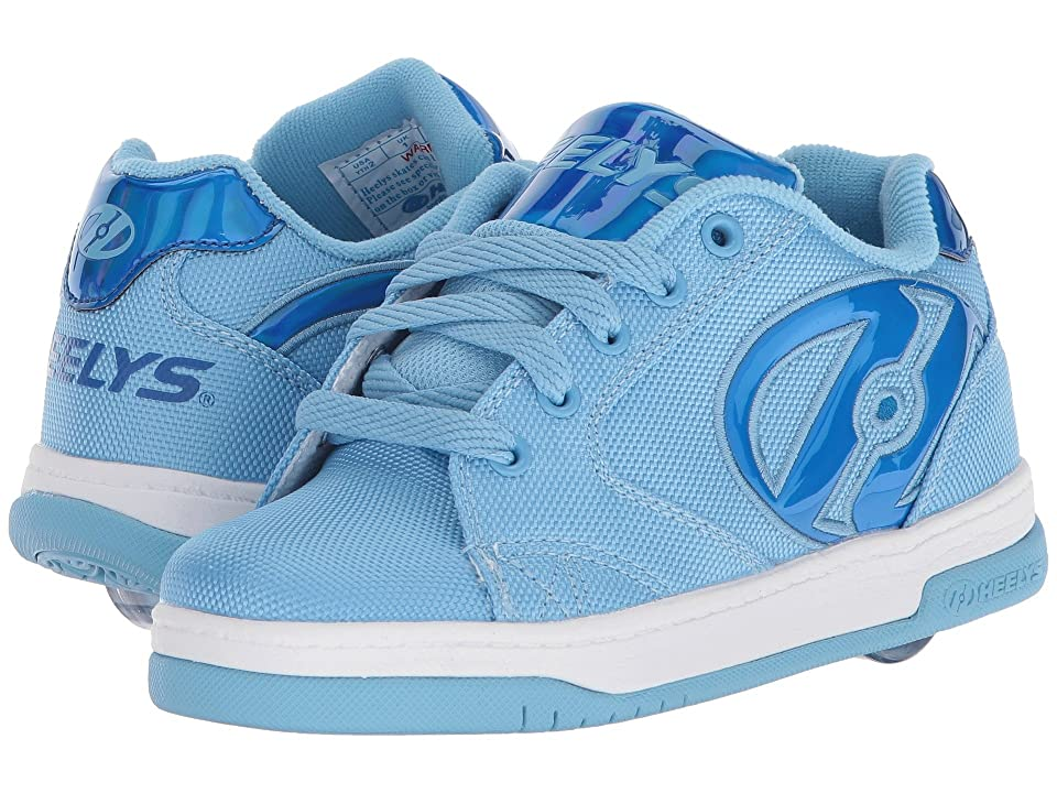 Heelys Propel 2.0 Ballistic (Little Kid/Big Kid/Adult) (Light Blue Ballistic/Blue Hologram) Girls Shoes