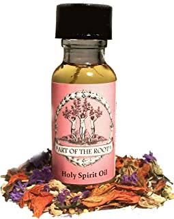 Holy Spirit Oil 1/2 Oz for Faith, Blessings & Prayers Hoodoo Voodoo Wicca Pagan Conjure Santeria