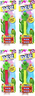 Pez Limited Edition Cactus Dispensers and Pez Candy Blister Packs with Tru Inertia Kazoo (4 Pack)