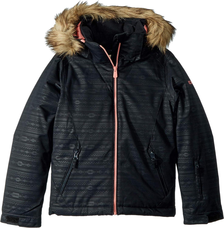 Roxy girls American Pie Girl Embossed Snow Jacket