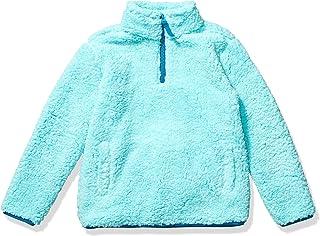 Amazon Essentials Quarter-Zip High-Pile Polar Fleece Jacket Niñas