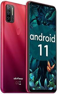 "SIMフリースマートフォン本体 HelioP60 8GB+128GB Ulefone Note 11P Android 11 48MP+8MP+2MP+2MP 4眼カメラ 6.55"" FHDフルスクリーン スマホ本体 4400mAh大容量バッテ..."