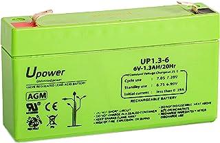 Bater/ía de plomo 6 V, 12 Ah, sin mantenimiento, 1800 ciclos Patona Premium AGM