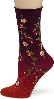 Women's Tibetan Flowers Sock