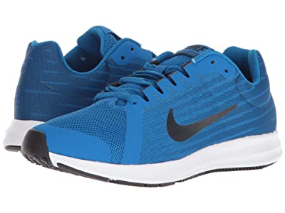 Nike Kids Downshifter 8 (Big Kid) (Blue Nebula/Dark Obsidian/Navy/White) Boys Shoes