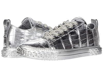 Giuseppe Zanotti Blabber Metallic Sneaker (Silver) Men