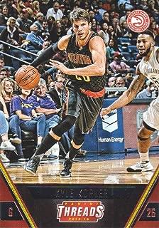 2015-16 Panini Threads Basketball #140 Kyle Korver Atlanta Hawks
