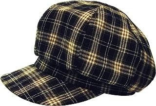 [ろしなんて工房] 帽子 キャスケット SP132 起毛タータン408 大きいサイズOK [日本製]