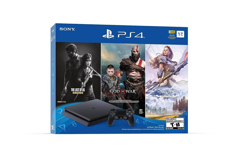 Sony PlayStation 4 Slim 1TB Console - Only On PlayStation Bundle