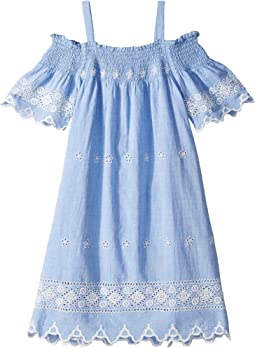 Eyelet Dress (Big Kids)