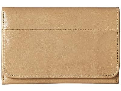 Hobo Jill Trifold Wallet (Parchment) Clutch Handbags