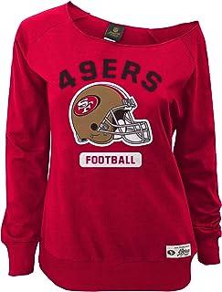 6e568f6c194 Outerstuff NFL Juniors NFL Junior Girls Wide Receiver Long Sleeve Boat Neck  Sweatshirt