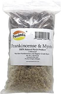 Govinda Natural Frankincense & Myrrh Resin Regular Grade - 1 Pound