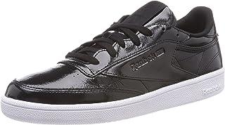 Reebok Club C 85 Patent, Chaussures de Tennis Femme: Amazon