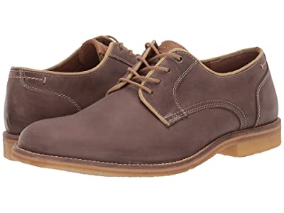 J&M EST. 1850 Howell Plain Toe (Gray) Men