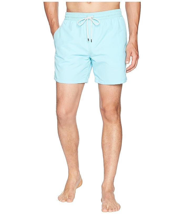 Polo Ralph Lauren Traveler Swim Shorts (Hammond Blue) Men