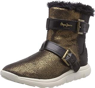 Pepe Jeans London Hyke W Snow, Botas de Nieve para Mujer