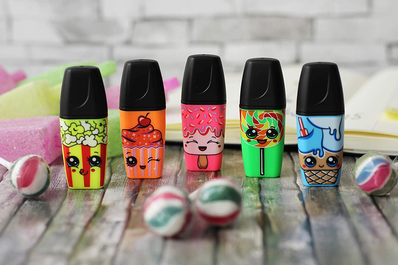 Edici/ón Limitada Pack con 3 colores Marcador fluorescente STABILO BOSS MINI Sweet Friends