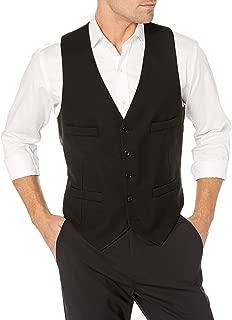 Men's Extreme Black Suit Separates(Blazer, Pant, and Vest)