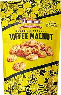 Diamond Bakery Hawaiian Cookies, Toffee Macnut 4.5 ounce (127g)
