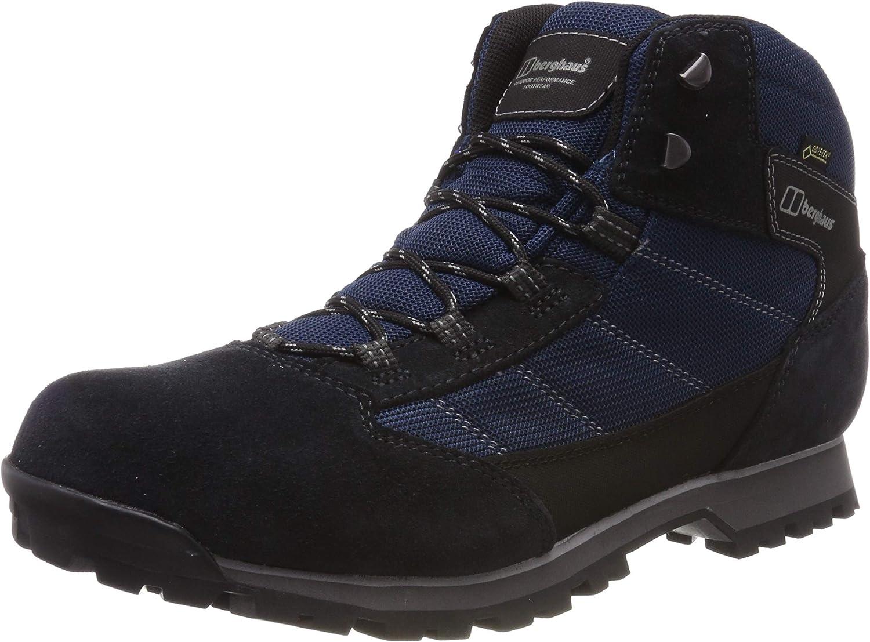 Berghaus UK Herren Hillwalker Trek Tech Stiefel Trekking- & Wanderstiefel, Blau (Navy grau N10), 44.5 EU