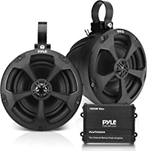 $187 » Waterproof Off-Road Speakers with Amplifier - 5.25 Inch 1000W 2-Channel Outdoor Marine Waketower Speakers Full Range for A...