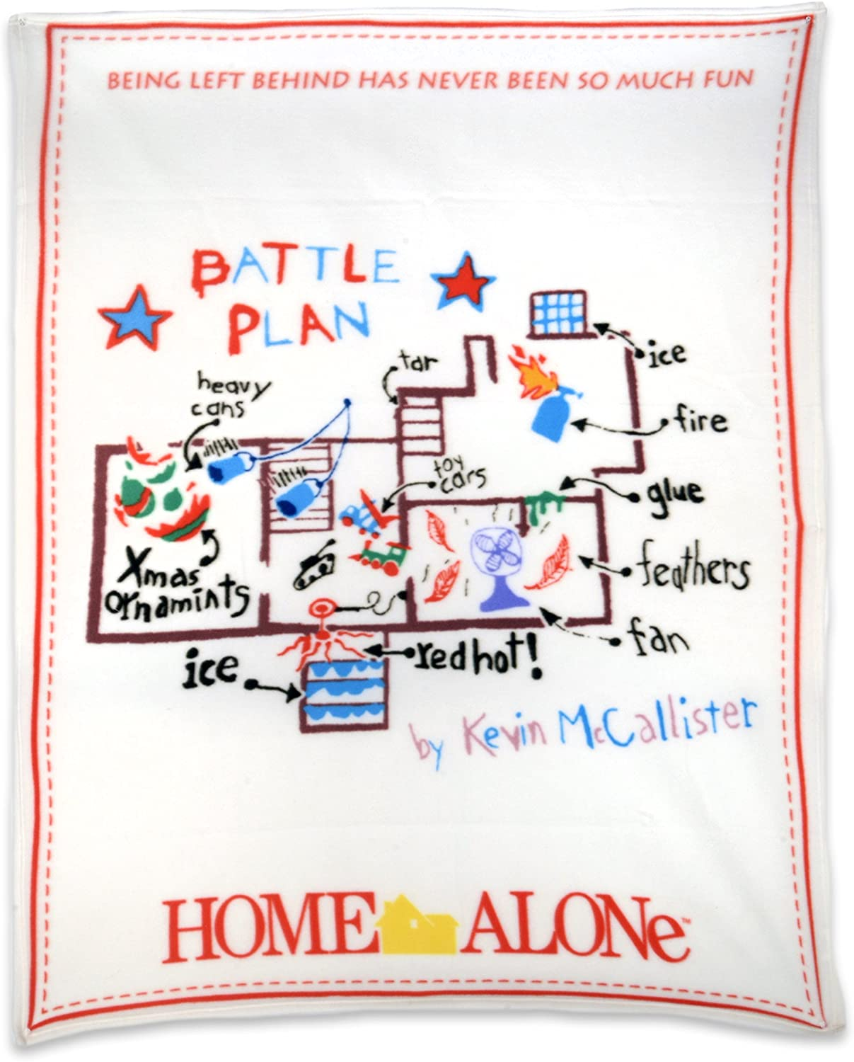 NECA Home Max 78% OFF Alone Fleece New Free Shipping Battle Blanket Plan Throw
