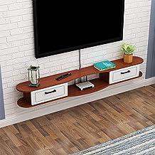 Wandmontage TV kast wandplank Drijvende TV Plank Media Console TV Stand met kast Deuren Entertainment Center Component Pla...
