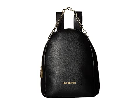 LOVE Moschino Luminous Chain Backpack