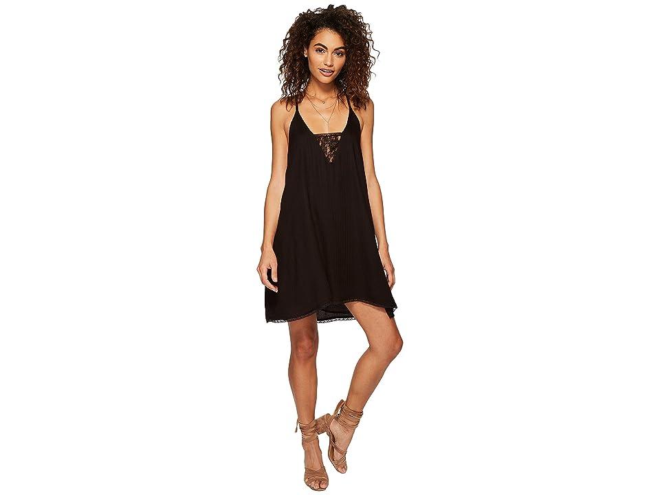 Volcom Bout Now Mini Dress (Black) Women