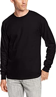 Men's Long-Sleeve Beefy-T Shirt (Pack of 2)