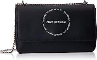 Calvin Klein Sculpted Convertible EW Flap Bag, 16 cm, K60K606150