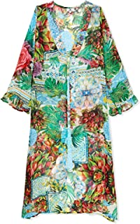 South Beach Beach Dress for Women - Multi Color, Multi Color, S/M